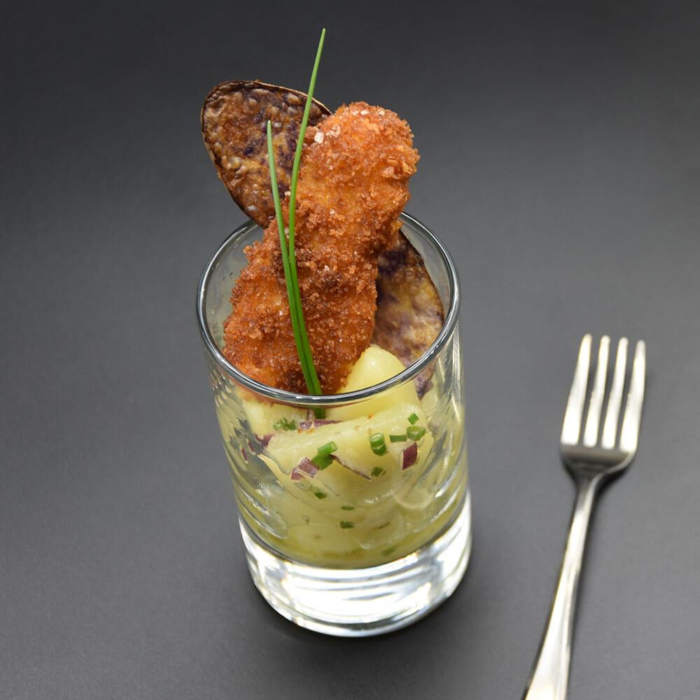 Mini-Gerichte im Glas